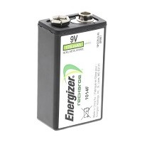 9 Volt Rechargeable Batteries