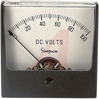 Analogue Panel Voltmeters